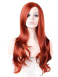 28 Inch Long Big Wave Female Heat Resistant Fiber Synthetic Wig