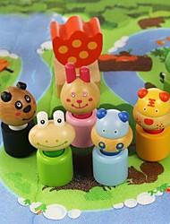 benho березы лесных кварталах животных деревянные игрушки образования