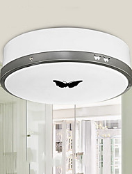Bathroom Flush Mount, Modern Metal