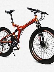 Mountain Bike / Folding Bike Cycling 26 Inch/700CC Men's / Women's / Unisex Adult Rockefeller Aluminium Alloy Orange / Yellow / Silvery