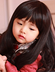 Children Liu Qi long Hair Wig
