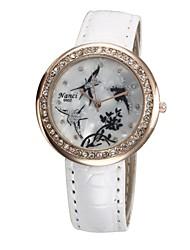 Cuarzo - para Mujeres - Analógico - Leopardo - Reloj Colgante -