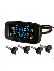 Car TPMS with 4 internal sensors PSI/BAR Colorful LCD display wireless ,Tyre Pressure Monitoring System ,TPMS PSI