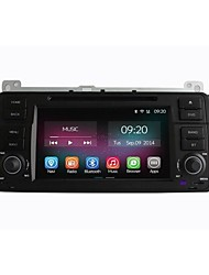 "7"" 1 Din In-Dash HD 10204*600 Car DVD Player For BMW E46 1998-2005 with Quad Core Android 4.4.2 2G Ram+16GB Flash"