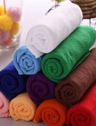 4pcs/lot Microfiber Towel Car Cleaning Wash Clean Cloth 30X60cm Random Color