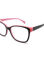 [lentes livres] wayfarer acetato full-jante óculos de grau retro das mulheres