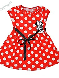 Big Elephant NEW HOT cotton minne kinds girl dress skirt baby outfits sets clothes for 0-4Y F10