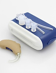 High Quality Hearing Aid Aids Mini Sound Amplifier Enhancement BTE Behind The Ear Care Tone Adjustable Kit