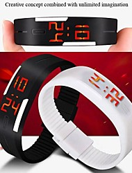 Mujeres - Digital - LED - Reloj Pulsera -