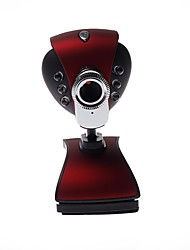 - Webcam 8.0 - 640 x 480 - LED Nachtsicht/HD Videotelefonie/Flexibel - Tragbar