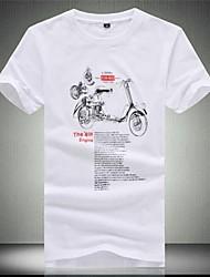 ronde hals met korte mouwen t-shirts voor mannen (meer kleuren)