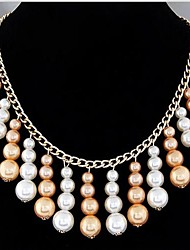 Lucky Doll Long Pearl Necklace