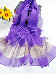 Shawls Silk/Polyester Solid Color Casual/Wedding Shawls/Scarves(More Colors)