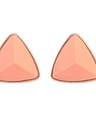 Women's EU&US Punk Large 3D Triangle Stud Earrings
