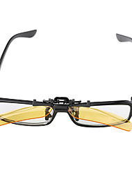 pc rectangle clip-on lunettes lentilles