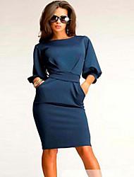от европейской моды элегантные дешевые платья женщин