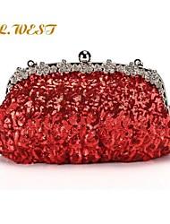 L.WEST® Women's Diamond Sequins Evening Bags