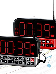 English Clock Controlled Export FM High Sensitivity FM Stereo Radio In L80 Large Screen