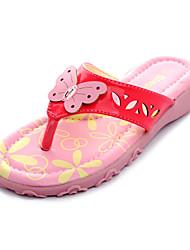 девочек обувь Флип-флоп плоский каблук тапочки обувь более цветов