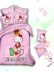 Shuian® Fashion 3D Effect Pattern Colour Oil Painting Cotton Reactive Twill Print Bedding Set Quilt Pillow Cover Sheet