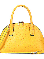 OMTO Women's Fashion Cow Leather Vintage Handbag