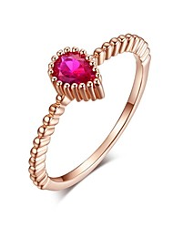 Alliances Femme Zircon Or Rose Or Rose