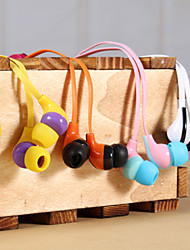In-Ear Earphones with MIC for iPhone 6 iPhone 6 Plus (Assorted Colors)