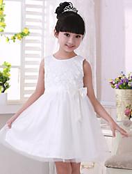 Girl's Fashion net yarn bowknot cuhk children's princess dress skirtB8891
