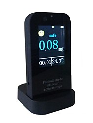 "2.7"" LCD Home / Car Gas Analyzer 24-Hour Monitor Formaldehyde Detector w/ Time / Temperature Display"
