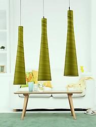 maishang® pingente de cristal de luxo moderno vivendo 3 luzes