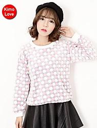 kimolove ™ coreano de manga larga camiseta ocasional de las mujeres