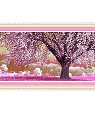 Beautiful Cherry Trees Cross Stitch
