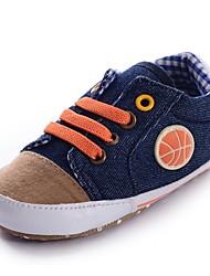 Baby Calçados - Tênis Social - Azul - Jeans - Casual