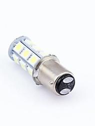 2pcs DC 12V 18 LED 5050 18 SMD LED 1157 BAY15D White Car Bulb Stop Tail Brake Light Rear Lamp