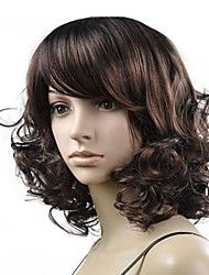 Perruque Frisé - en Fibre synthétique  - pour Femme