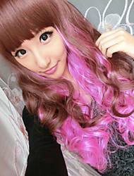 Hot Fashion Color Quality Synthetic Wig Synthetic Long Curly Hair