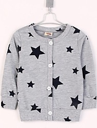 Boy's Fashion Cute Pentagram Design Blouses