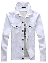 XIBIN Men's Floral Print Jacket