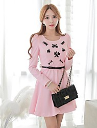 Pink Doll® Women's  Fashion Elegant Slim Dress