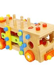BENHO Tools Truck Wooden Building Blocks Baby Toy