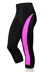 SPAKCT Women's Summer Cycling Pants with Compression 3D Pad