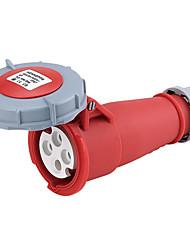 HENNEPPS HN544 Waterproof Industrial Connector Female Industrial Socket CE 400V 50A 3P+E IP44 6H 1-2.5mm²