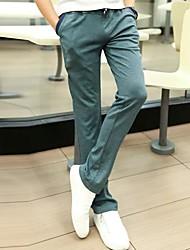 Men's Sweatpants , Casual/Plus Sizes Pure Cotton