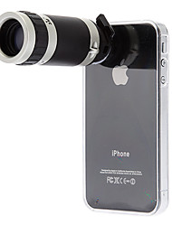 iPhone4 Mobile Phone Telescope 8X for 4G/4S with Back Case