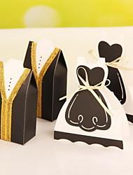 Cajas de regalos ( Blanco , Papel de tarjeta ) - Tema Jardín -Matrimonio/Aniversario/Despedida de Soltera/Baby Shower/Quinceañera y Dulces