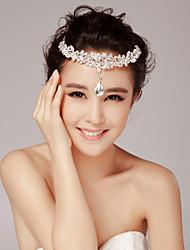 Women's / Flower Girl's Rhinestone Headpiece-Wedding / Special Occasion Head Chain