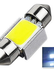 2.8W 12V 7000-8000K 31MM-COB-9SMD C5W with Radiator Canbus License Plate And Tail Box Lighting LED Light for Car