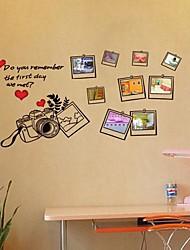 ambientale photo frames smontabile della parete del PVC