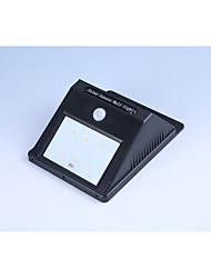 Solar 6LED human body induction lamp