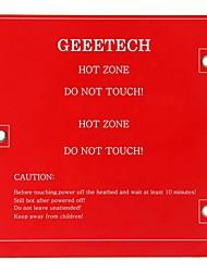 geeetech квадратной формы печатных плат heatbed для меня создателя мини 3D-принтер